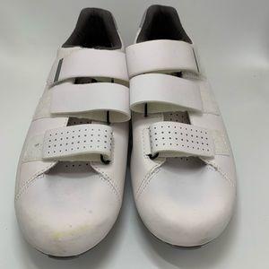 Shimano cycling shoes White